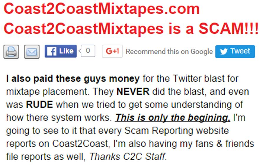 Coast 2 Coast Mixtapes Yes They Are A Scam Gaetano